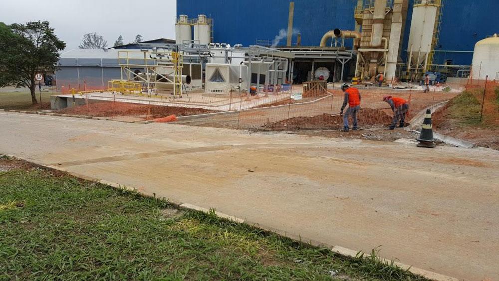 Rede de drenagem de Efluentes água servida industrial