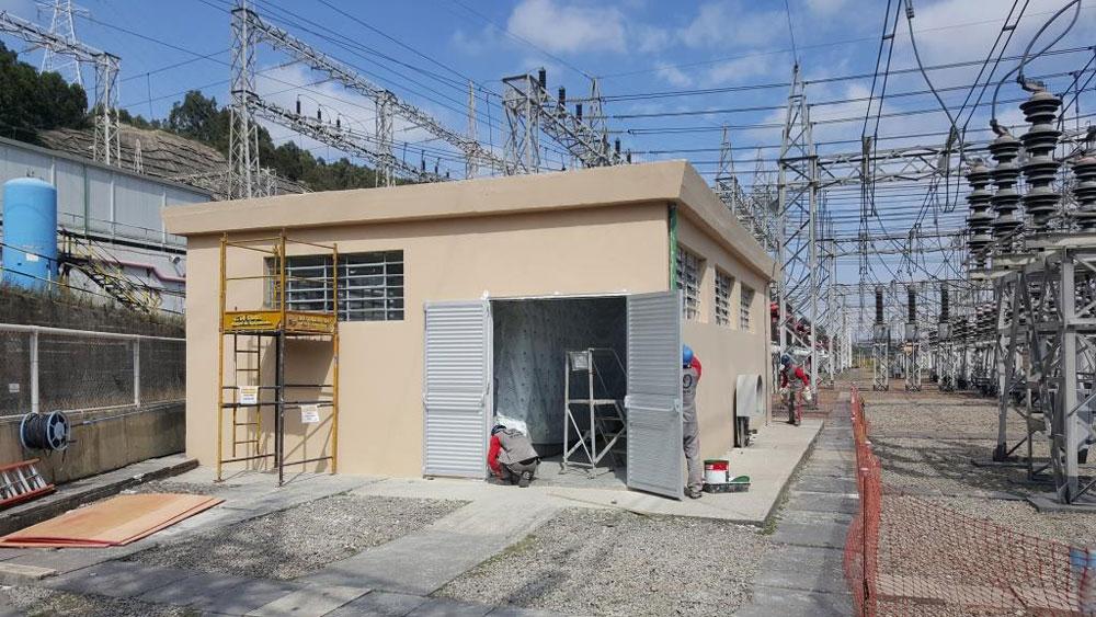 Reforma Geral de Cabine Elétrica de SubEstação de 230KV