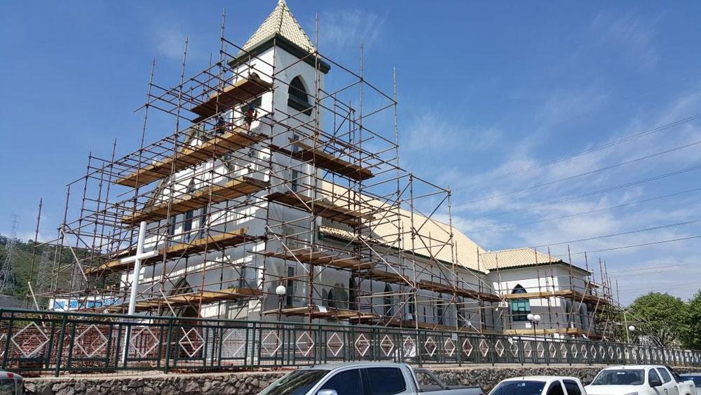 Reforma Geral Igreja/Auditório e Prédio
